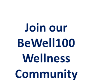 BeWell100 Rolling banner
