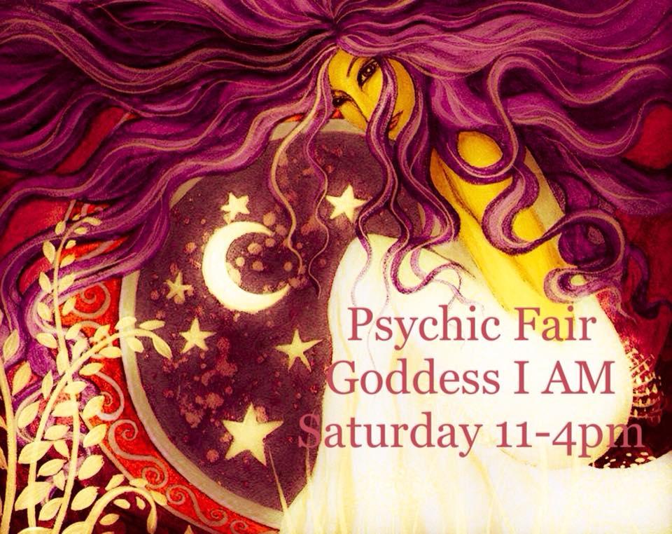 Psychic Fair at Goddess I AM – Bewellinnparadise